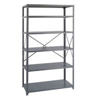 "Industrial Shelving Unit - 36""x24"", B32219"