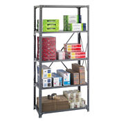 "Steel Shelving Unit - Five Shelf, 36""x18"", B32222"