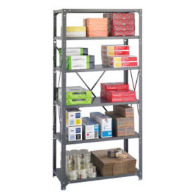 "Steel Shelving Unit - Six Shelf, 36""x18"", B32225"
