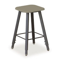 "AlphaBetter Height Adjustable Stool 21""-35-1/2""H, C70340"
