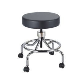 Low Base Lab Stool with Foot Rest, V21288