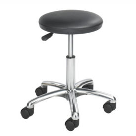 Basic Lab Stool with Antimicrobial Vinyl, V21290