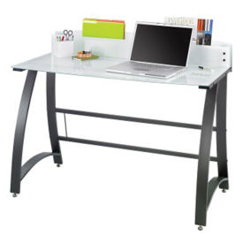 Xpressions Glass Top Laptop Desk, E10204