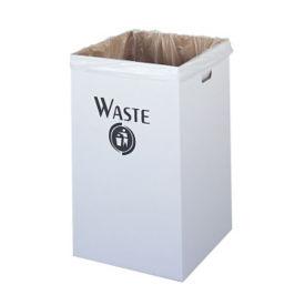 Trash Bin Corrugated Fiberboard 40 Gallon Capacity, R20166