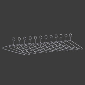 Set of Twelve Theft Proof Hangers, V20989