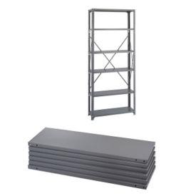 Industrial Shelves 36x12 6 Pak, V21016