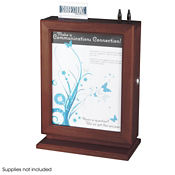 Customizable Wood Suggetion Box with Lock, W60507