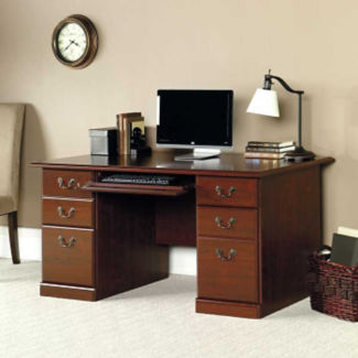"Traditional Computer Desk - 29.5"" D x 59.5"" W, D35175"