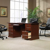 "Traditional Executive Desk - 35.5"" D x 70.5"" W, D30172"