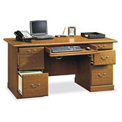 Executive Double Pedestal Desk, C80224