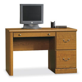 Single Pedestal Computer Desk, D30168