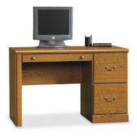 Single Pedestal Computer Desk, D30168