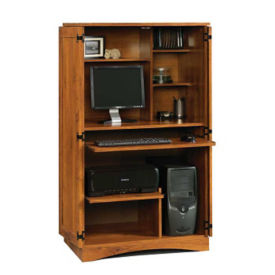 Harvest Mill Computer Armoire, D30151