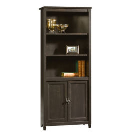 Edge Water Bookcase with Doors, D31171