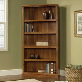 Abbey Oak Five Shelf Bookcase, B30439