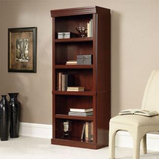 "Five Shelf Traditional Bookcase - 71"" H, B32154"