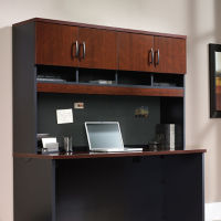 Soft-Close Credenza Hutch, B34715