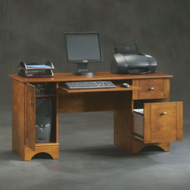 "Contemporary Computer Desk - 23""D x 59""W , D35282"