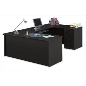 "Compact U-Desk - 60""W, D35699"
