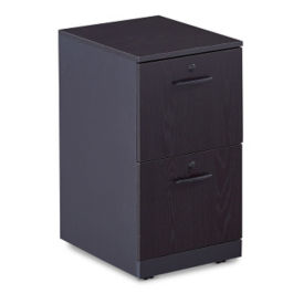 Two Drawer Mobile Pedestal with Lock, L40832