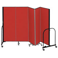 "5 Panel Partition 9'5""w x 5'h, F40907"