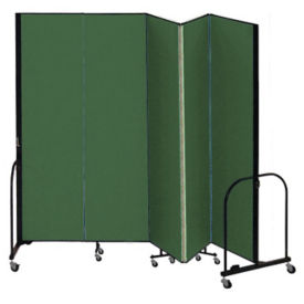 "5 Panel Partition 9'5""w x 6'8""h, F40917"