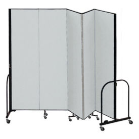 "5 Panel Partition 9'5""w x 7'4""h, F40922"