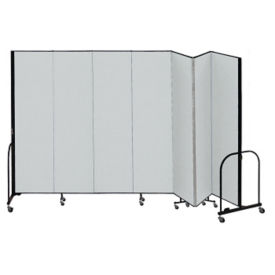 "7 Panel Partition 13'1""w x 7'4""h, F40923"