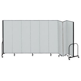 "9 Panel Partition 16'9""w x 7'4""h, F40924"