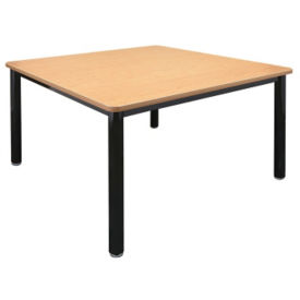 "48"" Square Library Table, T11220"