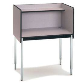 Modular Carrel - Adjustable Height Starter, J10042