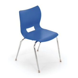 "Poly Shell Stack Chair 14""H, C70440"