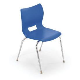 "Poly Shell Stack Chair 18""H, C70442"
