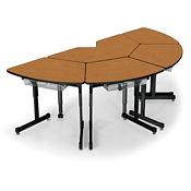 Arc Half Octagon Desk Piece, D35344