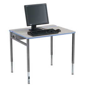 "Adjustable Height Computer Table - 36""W x 30""D, E10183"