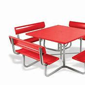 Backrests for Square Picnic Table, V20335