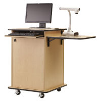 "Compact Multimedia Cart - 40""H, M10390"