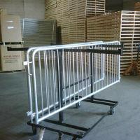 Steel Barricade Transport Cart, V21647