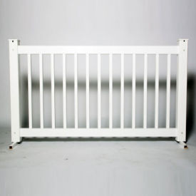 """Traditional Style Plastic Fence Panel 42""""H , V21651"""
