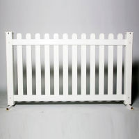 "Picket Style Plastic Fence Panel 42""H , V21652"