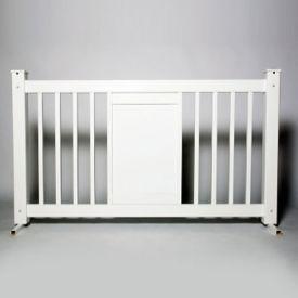 "Display Style Plastic Fence Panel 42""H , V21653"