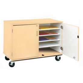 "Classroom Supply Storage Cart - 36""H, B30006"