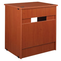 "Book Return with Locking Drawer 40""H, B30494"
