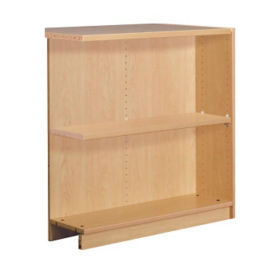 "Single Faced Shelving Adder, 2 Shelves, 39"" H, B34309"