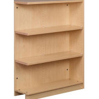 "Single Faced Shelving Adder, 3 Shelves, 47""H, B34311"