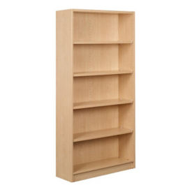 "Single Faced Shelving Starter, 5 Shelves, 74"" H, B34314"