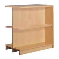 "Double Faced Shelving Adder, 2 Shelves, 39"" H, B34329"