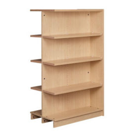 "Double Faced Shelving Adder, 4 Shelves, 61""H, B34334"
