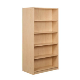 "Double Faced Shelving Starter, 5 Shelves, 74""H, B34335"
