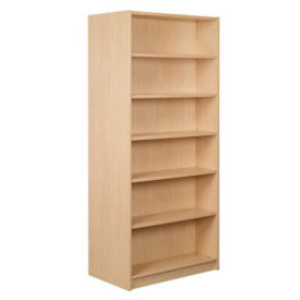 "Double Faced Shelving Starter, 6 Shelves, 84""H, B34337"